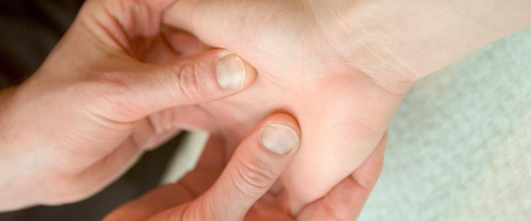 Kontakt Abbildung Handmassage