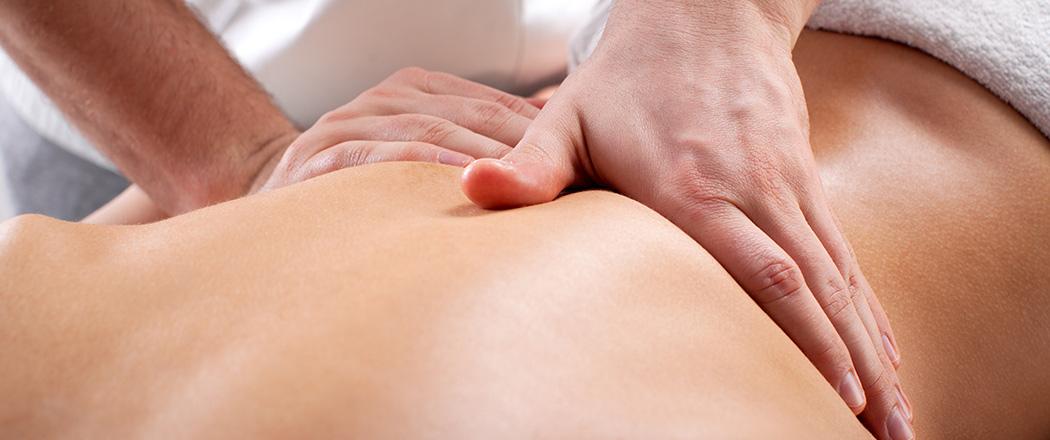 Massage und Coaching Foto Rückenmassage